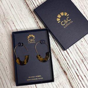 C&C 14K Gold earrings